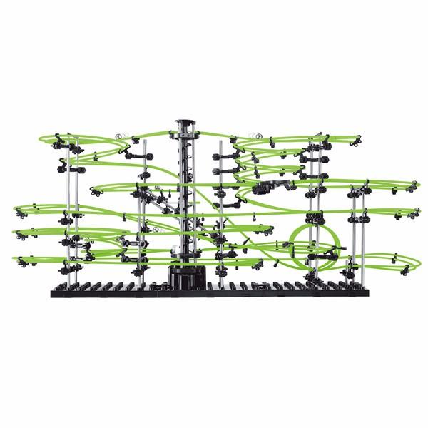 Wholesale- SpaceRail Level 4 233-4G 22000mm Glows In The Dark Fluorescent Luminous Model Building Kit Roller Coaster Educational Toys