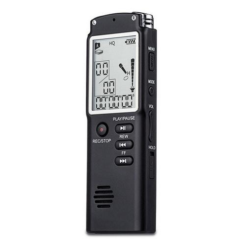 Wholesale- T60 Professional 8GB Time Display Recording Digital Voice Audio Recorder Dictaphone MP3 Player