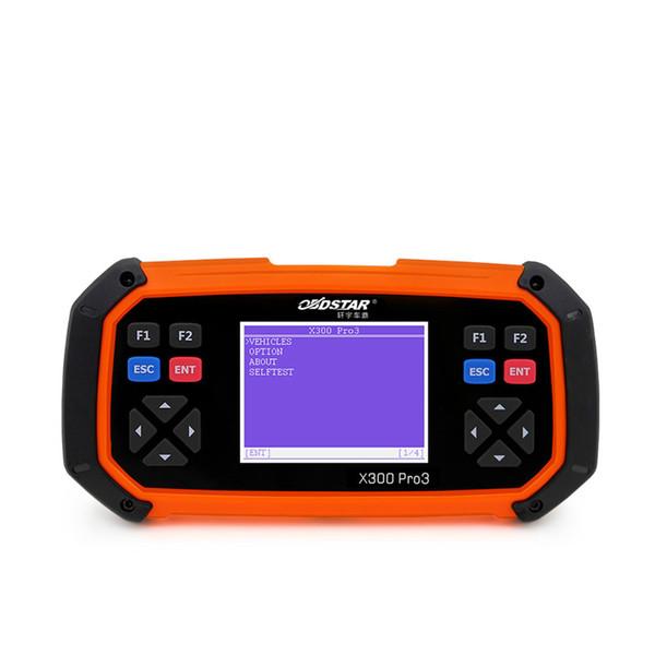 New OBDSTAR X300 PRO3 Key Master OBDII X300 Key Programmer Odometer Correction Tool EEPROM/PIC English Version Update Online