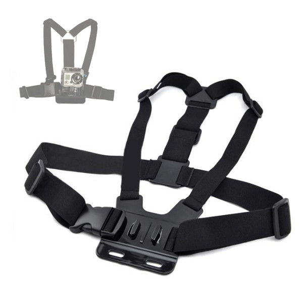 Gopro Accessories Adjustable Elastic Chest Body Strap Mount Harness Belt for Gopro Hero 4 3+ 3 Action Camera SJ4000