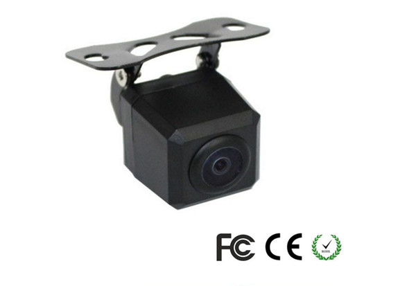top popular HD Waterproof Rearview Car Camera PZ407 1 4 CMOS DC 12V IP67 Diameter Of Shell 18MM 170 Degree 600TVL DHL 2021