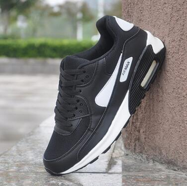 Alta calidad Barato Original 2017 Run Zapatos casuales Mujeres y Hombres negro blanco Runings Runing Athletic Outdoor Sneakers one Size36-45