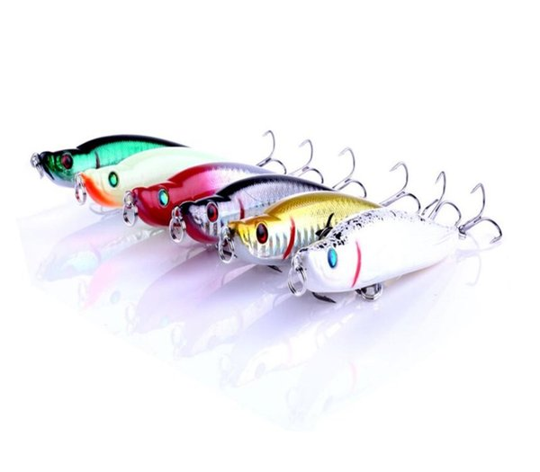 Top Sale 6PCS Turnup Lip Pencil Bait 16 Gram Far Casting Fishing Pencil Lure 9.5cm 3D Eyes Lifelike Hard Baits