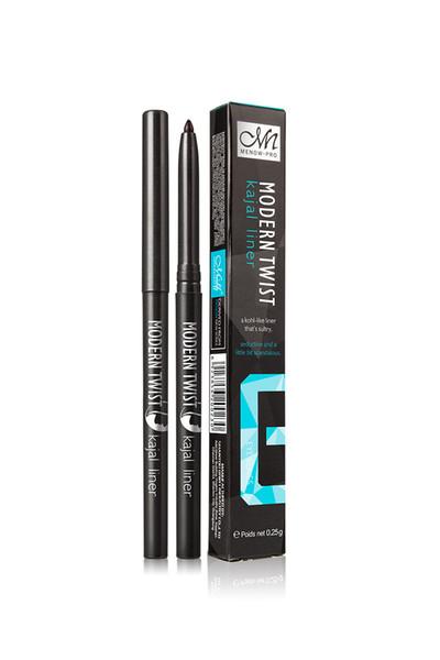 72PCS M.n Menow Makeup Eyeliner Modern twist Natural Kajal liner Pencil Long-lasting Easy to Wear Eyeliner 2colors Cosmetic P201