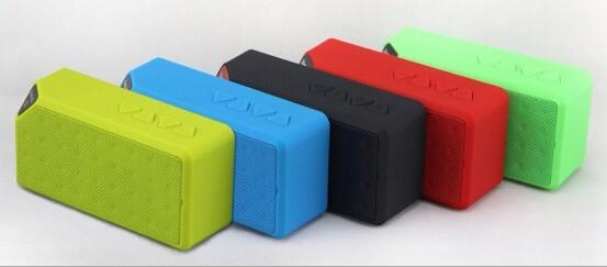 X3 OY Mini Portable Cube Wireless Bluetooth Speaker TF FM Subwoofer Bass Music MP3 Player with MIC Speakers Car Handsfree for iPhone 8 Plus