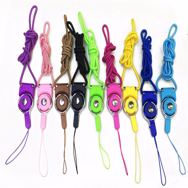 Rotatable Strap Detachable Ring Lanyard hanging Charming Charms Rotating Buckle For Cell Mobile Phone MP3 MP4 Flash Drives ID Cards holder