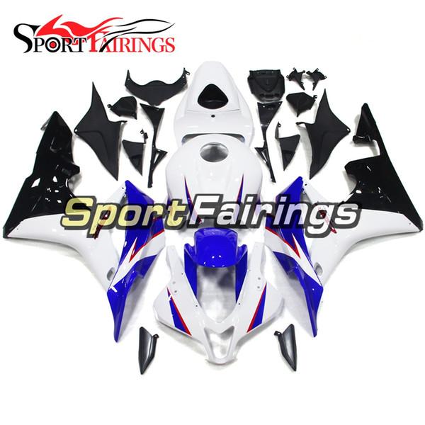 White Black Blue Motorcycle Full Fairings For Honda CBR600RR F5 07-08 CBR600 RR 2007 2008 Plastic ABS Injection Cowlings Bodywork Body Kits