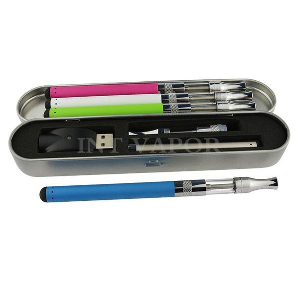 colored vape pen with glass oil tank cartridge and 280mah stylus o pen battery glass vapor kit 510 oil vaporizer hot selling-03