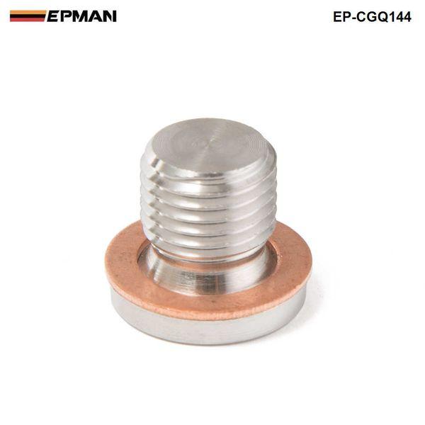 best selling EPMAN-M12 x 1.25mm Oxygen o2 Lambda Sensor blanking Plug Cap Bang motorcycles and cars EP-CGQ144