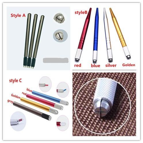 120 pcs 3D Handmade Manual Cosmetic Tattoo Eyebrow Pen Machine Permanent Makeup Eyebrow Microblading Tattoo Pen
