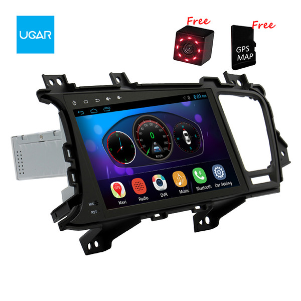 9 inch KIA K5 2011-15 Quad Core 1024*600 Android Car GPS Navigation Multimedia Player Radio Wifi