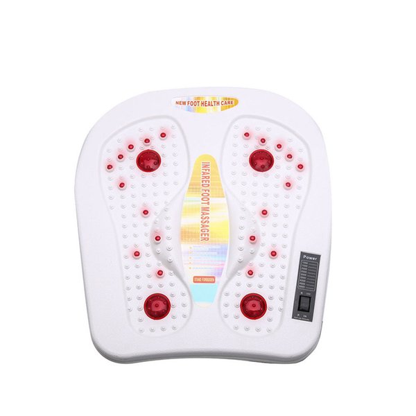 Vibration In Foot >> Infared Shaking Electric Roller Reflexology Foot Massager Machine Vibration Vibrate Infrard Heated Massage Foot Bath Best Free Dhl Electric Foot