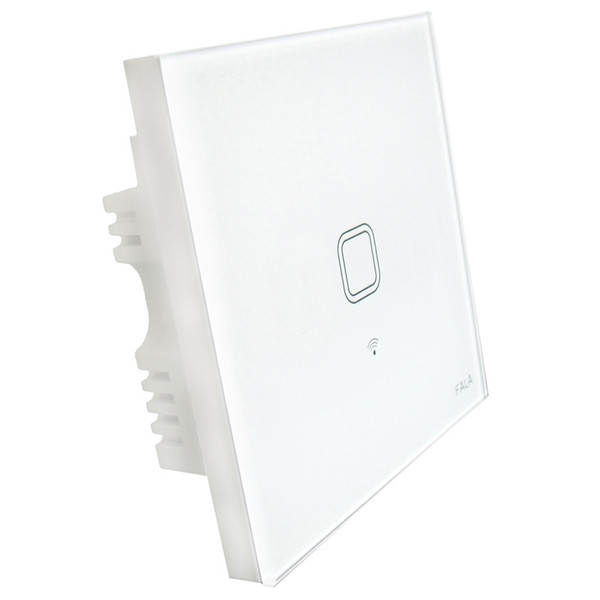 Brand new Touch UK Plug Wall Wifi Light Switch Glass Panel Touch LED Lights Switch for Smart Home Wireless Remote Switch Control