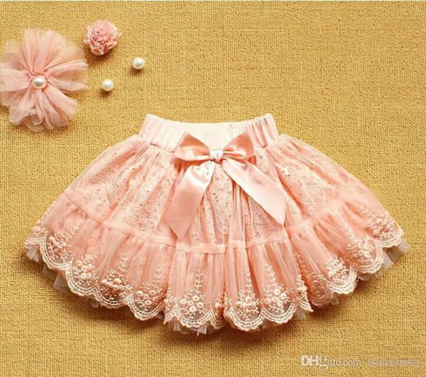 Children skirts Girls TuTu Skirt Kids Butterfly Ruffle Pettiskirt Christmas Child Mini Skirt Princess Skirts Pink Colors