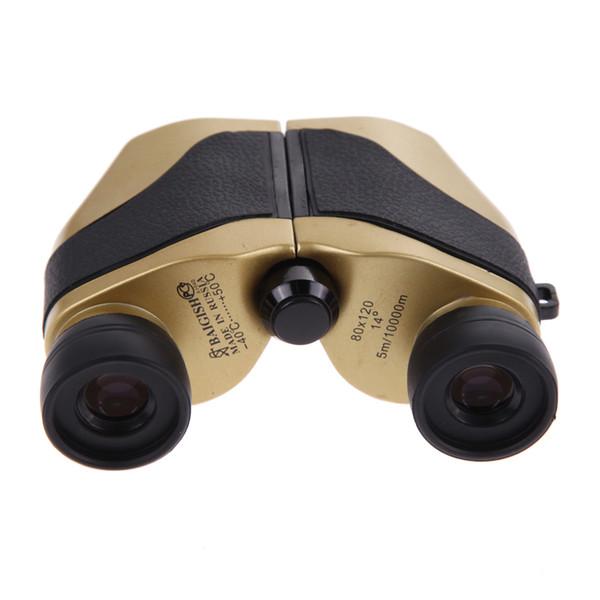 Outdoor Hunting Travel 80 x 120 Zoom Folding Day Night Vision Binoculars Telescope + Bag Hunting Binoculars with free DHL shipping