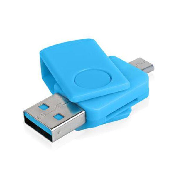 Mini-OTG-Kartenleser OTG High Speed USB 2.0 Speicher TF-Kartenadapter USB-Reader-Anschluss-Kit für Computer Android-Handy