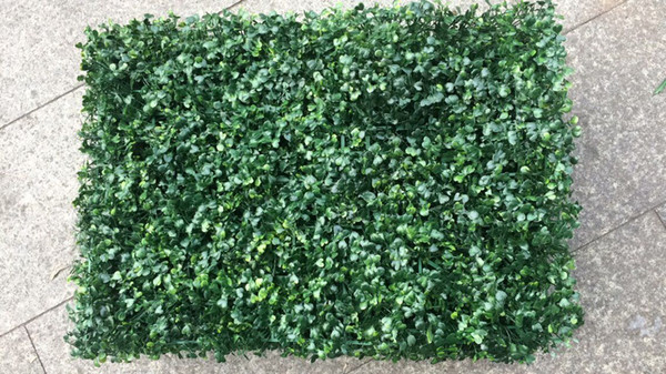 48pcs Artificial Grass plastic boxwood mat topiary tree Milan Grass for garden,home ,wedding decoration Artificial Plants