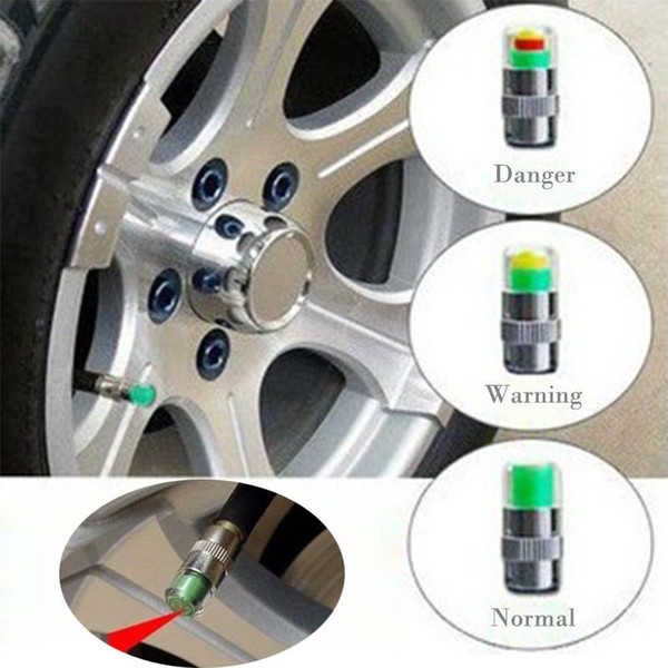 Mini 2.4Bar Cubiertas de Presión de Neumáticos de Neumáticos de Coche TPMS Herramientas Monitor de Advertencia Indicador de Válvula 3 Color de Diagnóstico Herramientas de Diagnóstico accesorios