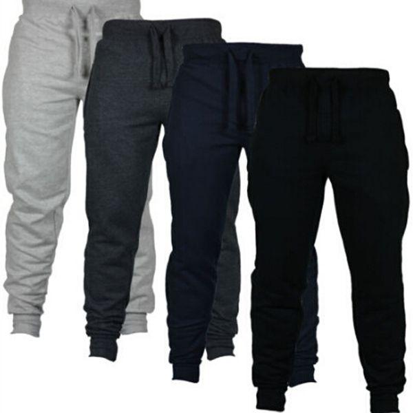 top popular New Fashion Harem Pants Sweat Pants Men Trousers Jogger Pants Chinos Skinny Joggers free shipping 2019