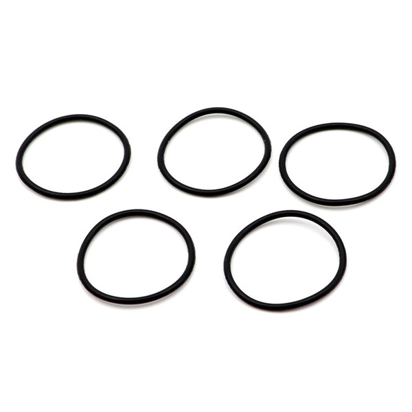 26mm 27mm 28mm 30mm 35mm x 1mm O-Ring Seals Black color waterproof black silicone O-ring For LED Flashlight torch