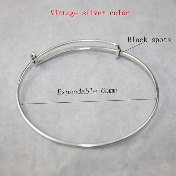 65mm vintage silver