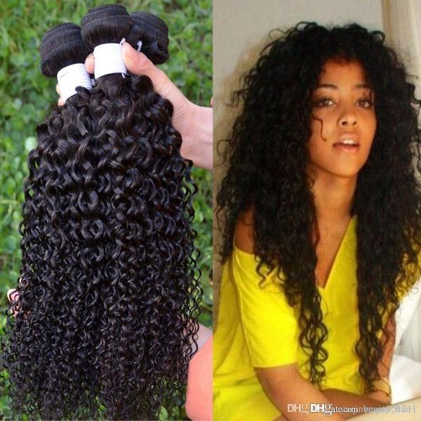 5a cheap human weave Brazilian kinky curly naturehair 3 Pcs10-30 inch cexxy hair Brazillian naturehair curly bundles 3,4,5pcs/lot