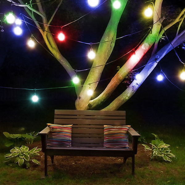 Pleasant Wireless Remote Control String Light Outdoor Fairy Lamp 30 Led Crystal Ball Graden Party Decor Lighting Battery Power Outdoor String Lights Led String Pdpeps Interior Chair Design Pdpepsorg