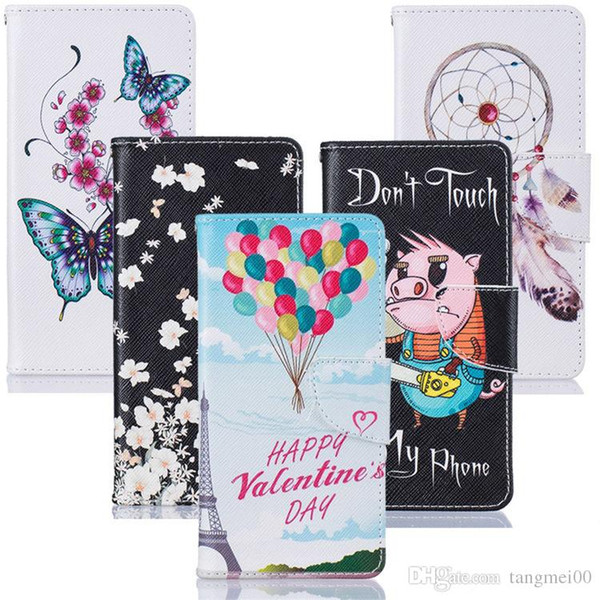 Cases For Galaxy Grand Prime Case Flip Stand Cover Cartoon Painted PU Leather Wallet For Samsung Galaxy Grand Prime G530H G530FZ