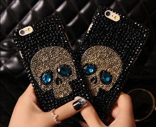 Cheap Iphone Cell phone Cases Best Skull and crossbones Phone Cover case Protect for Iphone Samsung S7 S6 edge