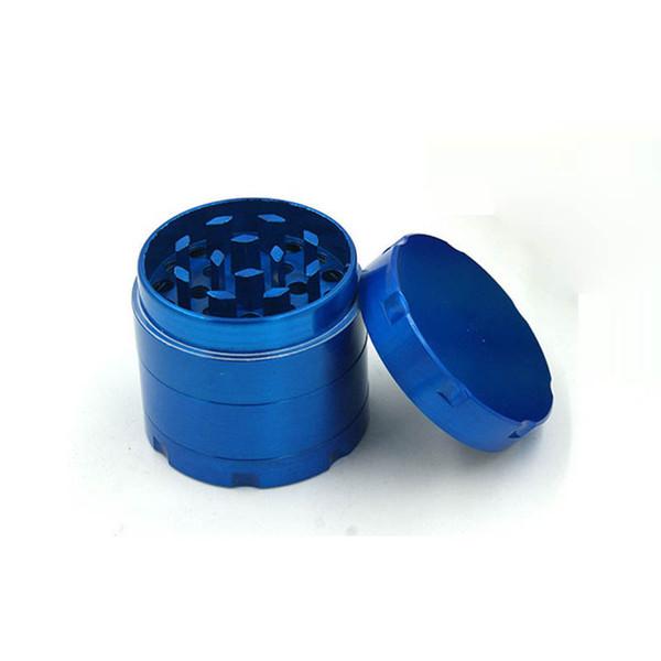 Горячая продажа курительная трубка 4 слоя Kirsite шесть угол плоскости металла Herbtobacco Grinder 40 мм в диаметре сигары сигареты Бесплатная доставка