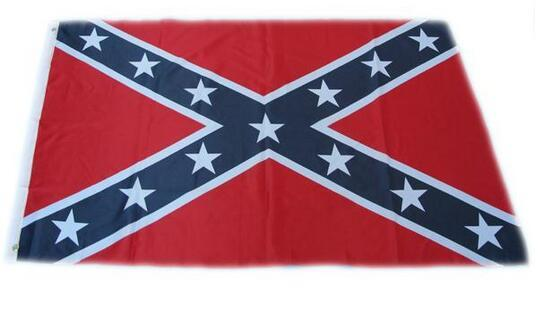 90cm*150cm two Printed Flag Confederate Rebel Civil War Flag Confederate Battle Flags Confederate Flag by the USA
