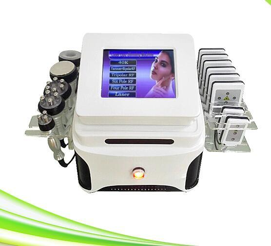 6 in 1 cavitation and lipolaser body slimming lipolaser beauty machine for sale
