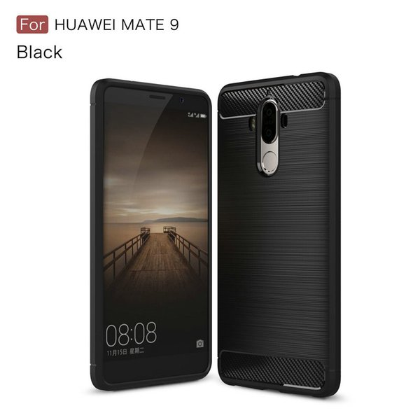 Carbon Fiber Case for Huawei Honor 5C 7 Lite Note 8 Mate 9 Lite GR5 2017 Honor 6X Nova Mate 9 Y6Pro G9 Plus Soft TPU Shockproof Rubber Cover
