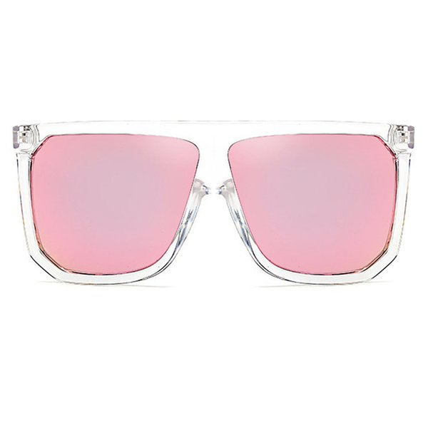 C6 Clear Frame Pink Mirror