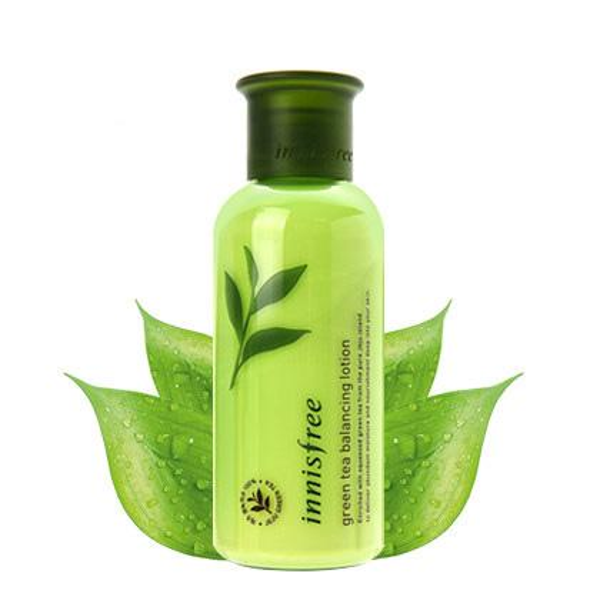Famous Brand Innisfree Green Tea Balancing Lotion for Skin Moisturing 160ML Skin Care Cream Free Shipping Hot Sale