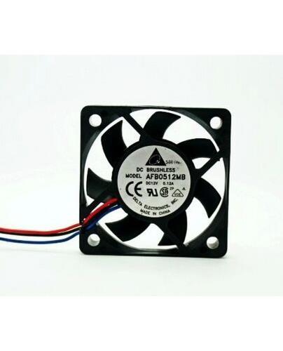 For Delta AFB0512MB 5015 12V 0.12A high speed double ball case fan