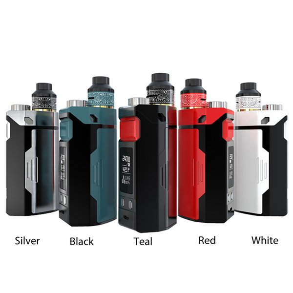 240W IJOY RDTA BOX Triple TC Kit Power By 18650 Battery Built-in Tank&IMC-10 Build Deck with 12.8ML Washable