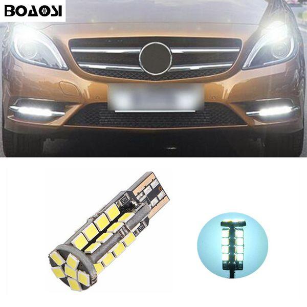 BOAOSI T10 2835SMD Luci di posizione a LED Sidelight Nessun errore per Benz CLS GLK E200 E260 E300 W219 W220 w202 w220 w204 w203 A / C / E / S / R