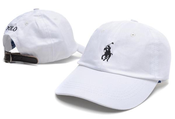 2018 polos Marka Snapback 20 Renkler Strapback Beyzbol Şapkası Bboy Erkekler Kadınlar Için Hip-Hop Şapka Donatılmış Şapka Siyah Pembe beyaz