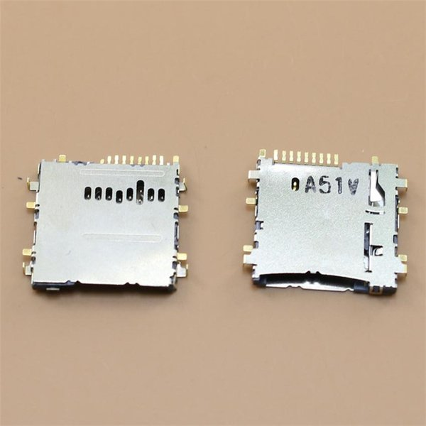 10 pcs/lot New Tab 3 8.0 T310 T311 P5200 T210 T211 T310 T315 T111 Sim Card Reader Holder Socket Slot