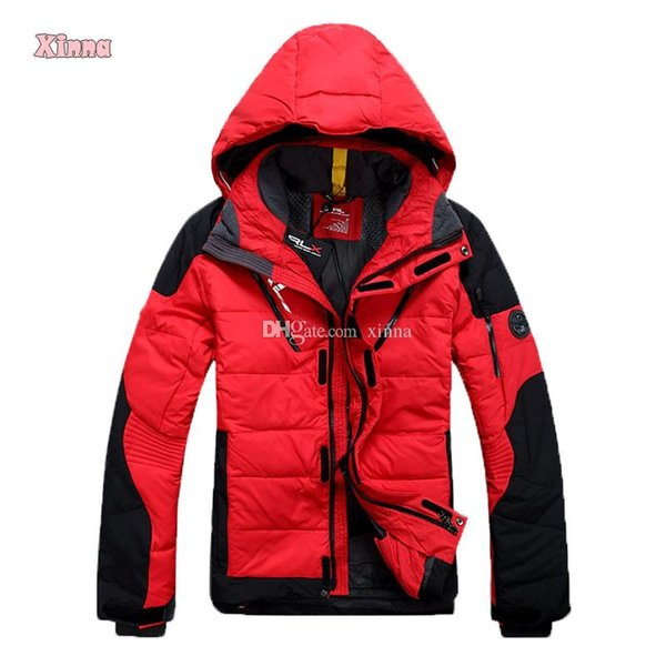 Wintermantel Grün Rot Jacke Männer Herren Outwear Armee Winter Daunenjacke Großhandel Blau Lässige Warme Schwarz Entendaunen Feste Weiß GqSpzVUM