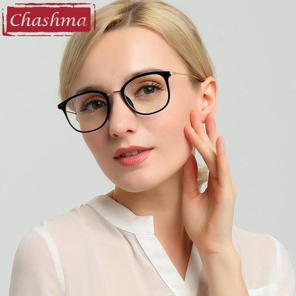 Wholesale- Chashma Chashma Brand Eye Glasses TR 90 Women Glasses Frame Fresh Style Eyewear Fashion Glasses for Men