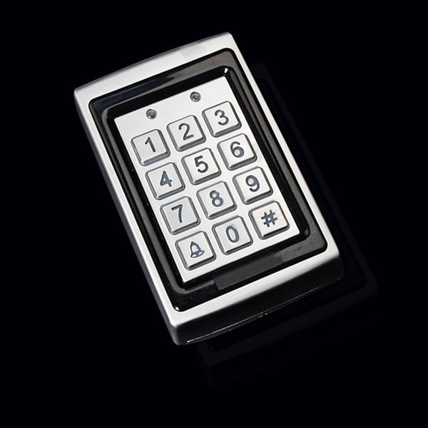 Gros-électronique rfid système de contrôle d'accès de porte RFID Proximité Inoxydable métal étanche contrôleur d'accès Présenté 10 cartes-clés