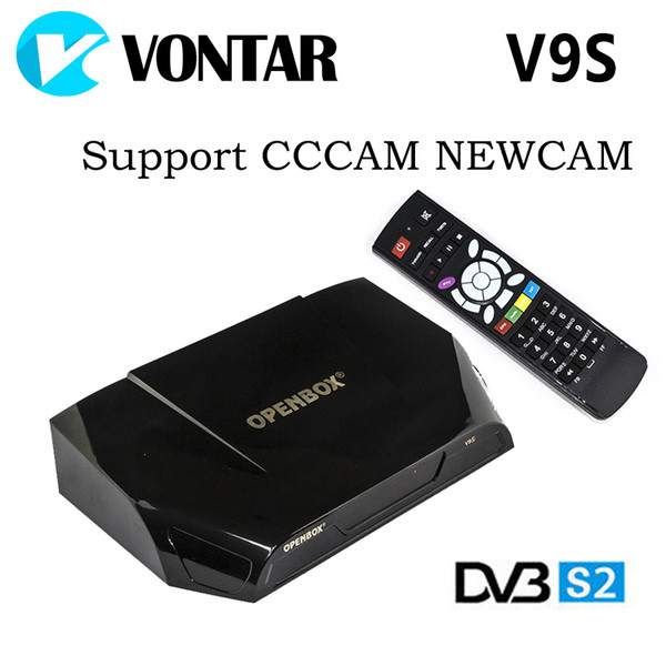 Factory Original Openbox V9s Vontar V9s Hd Satellite Receiver Support Web  Tv Biss Key Usb Wifi 3g Cccamd Newcamd Iptv Home Cinema Projectors Laser