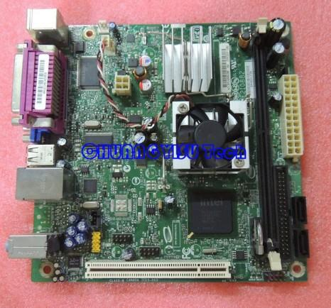 Industrial equipment board for Atom 330 D945GCLF2D 945GC Mini ITX motherboard,1.6G,dual core HT,DDR2,work perfect