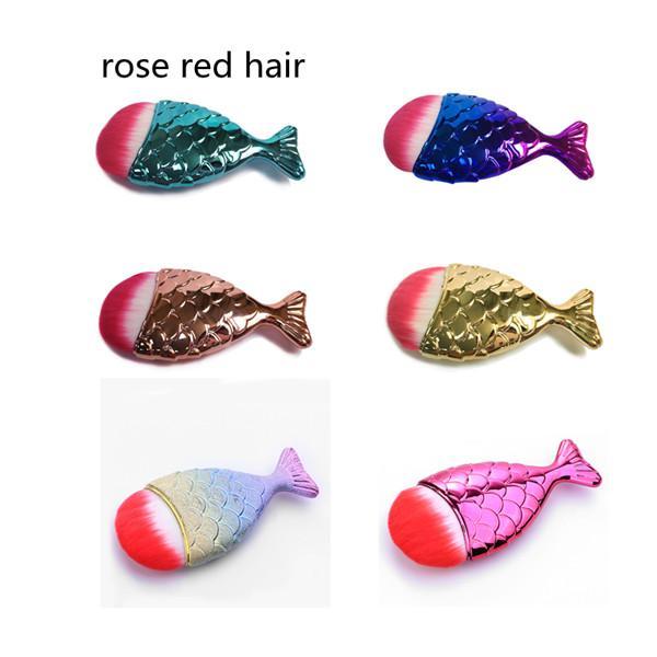 rose red hair