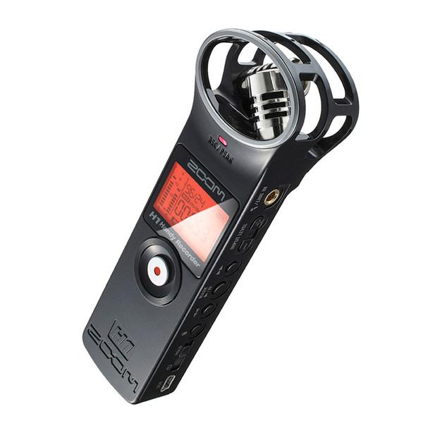 Al por mayor- PK Tascam portátil ZOOM H1 Handy Recorder Ultra-Portable Cámara digital Grabadora de audio Micrófono estéreo Entrevista SLR pluma