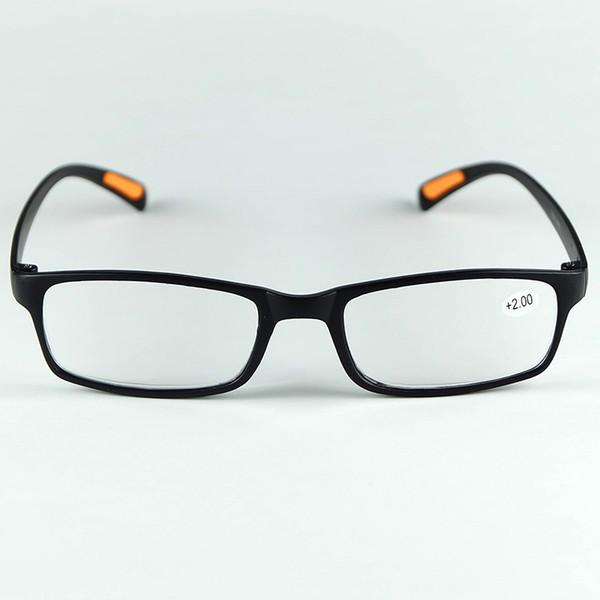 2019 Yeni Kaliteli Yaşlılar Okuma Gözlükleri Nemli Yerleşimler Tasarım Esnek Ve Hafif Plastik Çerçeve Hipermetrop Gözlük Siyah Ve Kahverengi