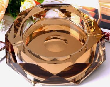 Wholesale- 15cm Creative fashion Crystal Ashtrays Fashion gifts