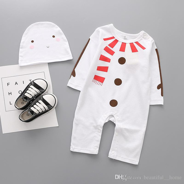 2017 Children Christmas cloth Baby boys nasa astronaut costumes infant halloween Romper for toddler boys kids space suit jumpsuit